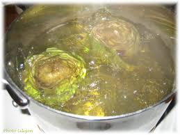 cuisine artichaut cuisson velouté de haddock et d artichaut lilizen cuisine