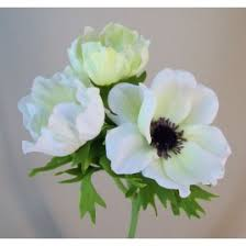 anemones flowers anemones white artificial flowers