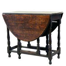 Wooden Drop Leaf Table Oval Oak Drop Leaf Table Oval Gateleg Dining Table Large Vintage