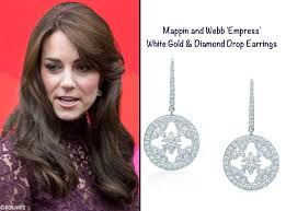 kate middleton diamond earrings polaris mappin webb kate middleton peng liyuan