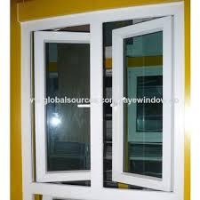 Awning Window Fly Screen China Aluminium Vertical Casement Window Design Double G From