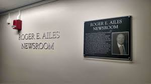 despite ouster at fox ailes u0027 name remains at ou campus news