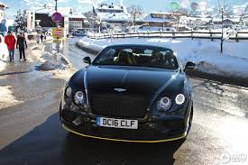 blue bentley 2016 bentley continental gt speed black edition 2016 21 january 2017