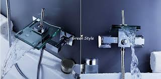 Waterfall Style Faucet 5 Style Bathroom Faucet Bath Shower Faucet In Wall Waterfall Mixer