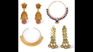 kerala earrings bhima jewellers kerala bridal necklace and earrings