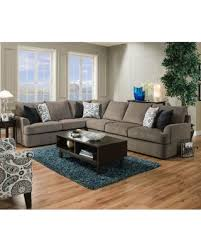 Upholstery Sectional Sofa Shopping Special Simmons Upholstery Grandstand Flannel