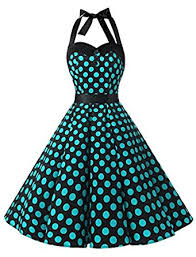 dressystar vintage polka dot retro cocktail prom