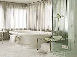 Window Curtain For Bathroom White Bathroom Ideas With Glass Sliding Door And Sheer Window