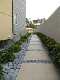 side house landscape contemporary with shrubs contemporary