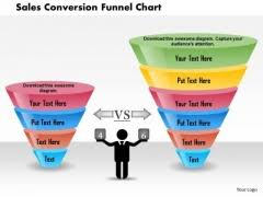 sales funnel powerpoint templates slides and graphics