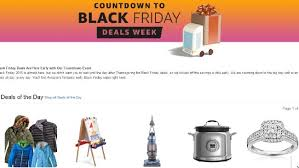 after black friday amazon amazon u0027s sales start early ahead of black friday 2016
