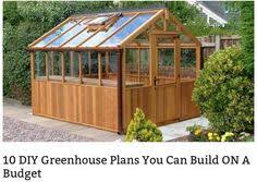 Backyard Landscaping Ideas On A Budget 10 Easy Diy Greenhouse Plans Diy Greenhouse Plans Greenhouse