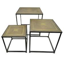 brown coffee table set modern brown metal coffee tables accent tables the home depot