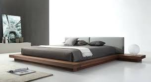 Platform Bed Uk Walnut Platform Bed Alder And Walnut Platform Bed W