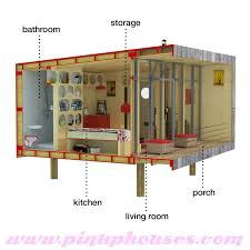 up house floor plan contemporary small house plans