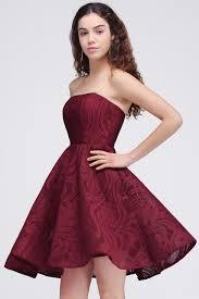 8th grade graduation dresses online shop vestido 15 ano curto burgundy lace homecoming