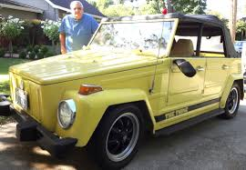 volkswagen thing yellow me u0026 my car u002773 vw thing a quirky but fun ride