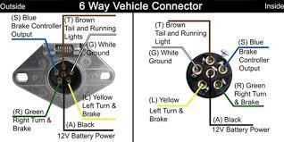 6 way connector wiring diagram wiring diagram and schematic design