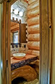 Log Home Bathroom Ideas Colors 27 Best Log Home Bathrooms Images On Pinterest Golden Eagle Log
