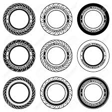 pneu sans chambre a air vecteur radial symboles de pneus sans chambre à air de moto clip