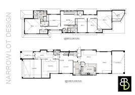 floor plans for narrow lots manificent design narrow house plans buy narrow lots house plans