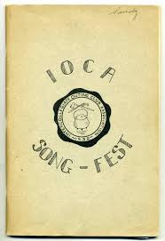ioca song fest 1938