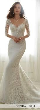 sleeve wedding dress fabulous fall wedding dresses for every type of bridalpulse