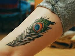 tattoo bulu 3d colorful peacock feather tattoo design of tattoosdesign of tattoos