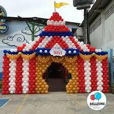 circus balloon un circo o una gran si te animas y compras muchos globos