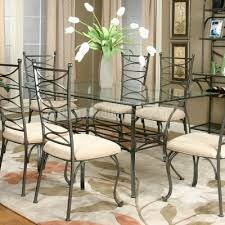 rectangle glass kitchen table popular of rectangular glass dining table set rectangular glass