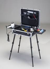portable hair and makeup stations vt101c make up with heat resistent lids the makeup trolley