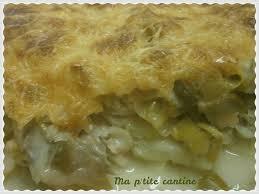 cuisiner poisson surgelé gratin de poisson aux poireaux ma p tite cantine