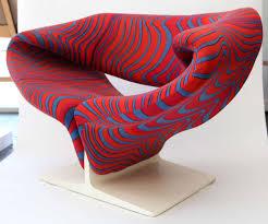 ribbon fabric paulin ribbon chairs upholstered with lenor larsen