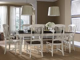 traditional dining table furnished by appoinments for six users