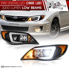 subaru headlight styles built in led low beam