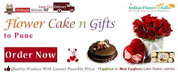 online cake and flower delivery in pune at midnight sameday