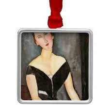 modigliani ornaments keepsake ornaments zazzle