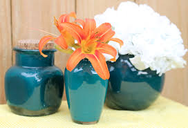 How To Paint Inside Glass Vases Cheap And Easy Decorating Idea Paint The Inside Of A Glass Vase
