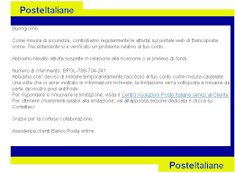 banco postaonline the i t side of my poste spam telegramma 953 ticket n 747987