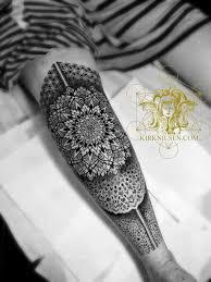 mandalas geometric dot work black work pointilism henna and