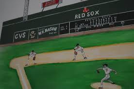 playroom mural archives hand painted murals for children baseball mural boston fenway park