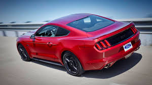 Black Mustang Gt Hood Blinkers Are Back 2016 Ford Mustang Gets Retro Turn Signals