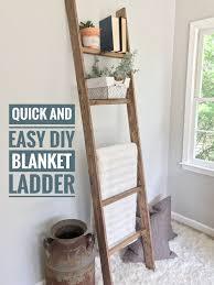 Diy Quilt Ladder Quilt Ladder by