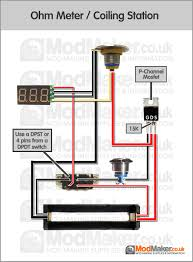 ohm meter coiling station wiring diagram box mod pinterest