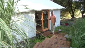 house of 3 tents affordable cabin home in california youtube