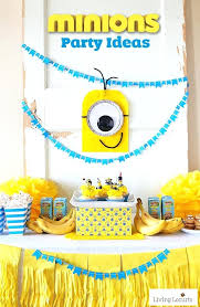 minions centerpieces diy birthday party decorations glassnyc co