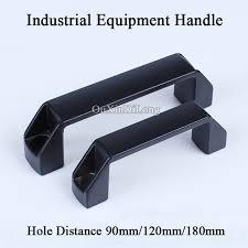 industrial cabinet door handles high quality 10pcs aluminum alloy machine industrial equipment