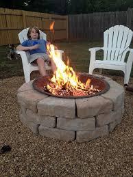 Make An Inexpensive Backyard Fire Pit Outdoor Living Backyard - Backyard firepit designs