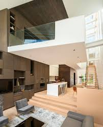how a little split level can help define a space contemporist