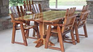 cedar mountain rustic wood outdoor furniture ga